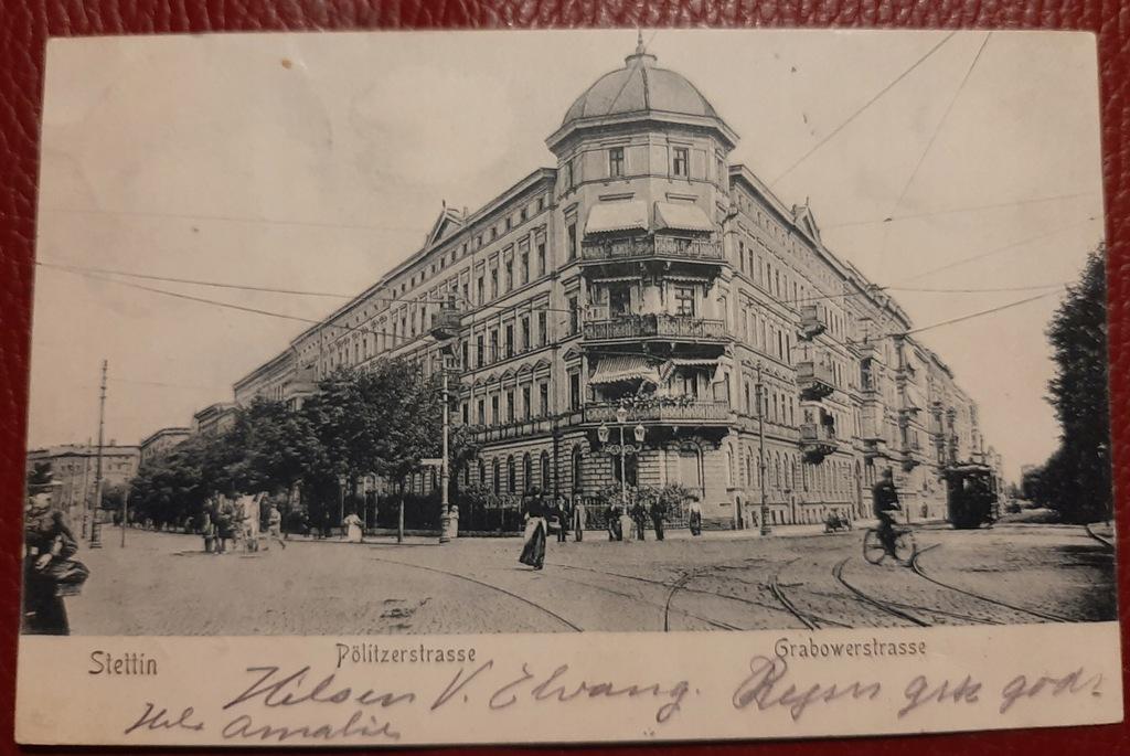 Pocztówka Stettin-Szczecin 1905 r.
