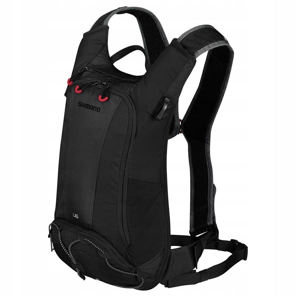 Plecak Shimano Unzen 6 Z Bukłakiem Black