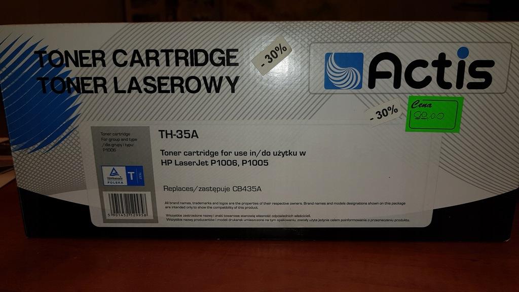 Toner Actis TH-35A HP LaserJet P1006, P1005-CB435A