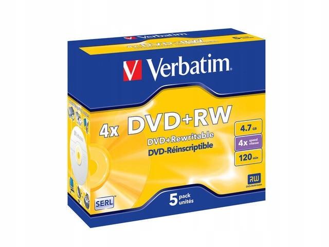 DVD+R 4x 4.7GB 5P JC Matt Silver 43229