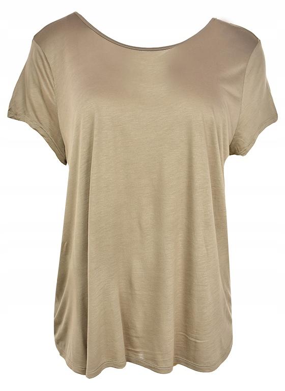 kAB8622 BONPRIX beżowy t-shirt 48/50