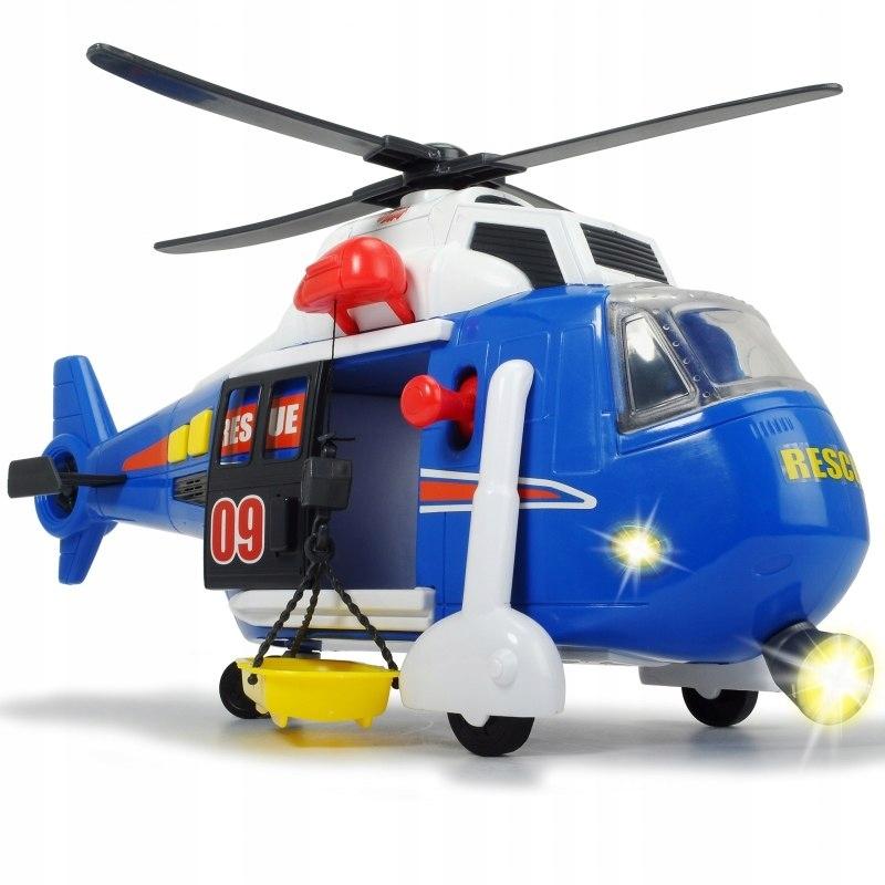 Dickie Helikopter ratunkowy 41 cm Speed Champs Świ