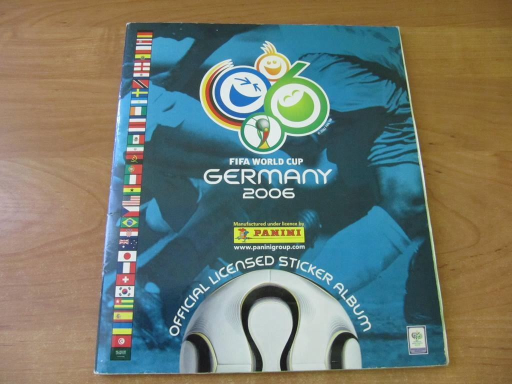 Album Panini Fifa World Cup 2006 Germany (pełny)