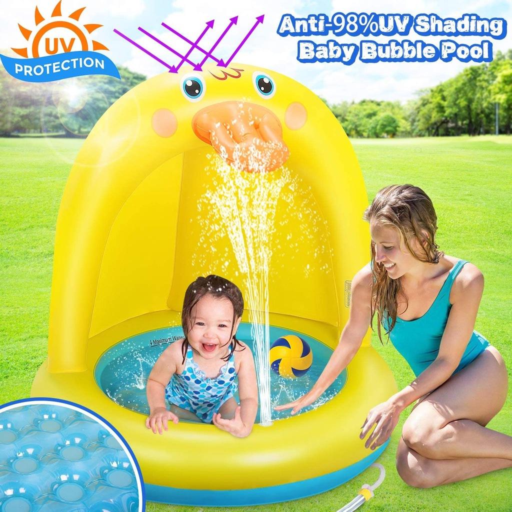 Nadmuchiwany basen dla dzieci Dookey po zwrocie