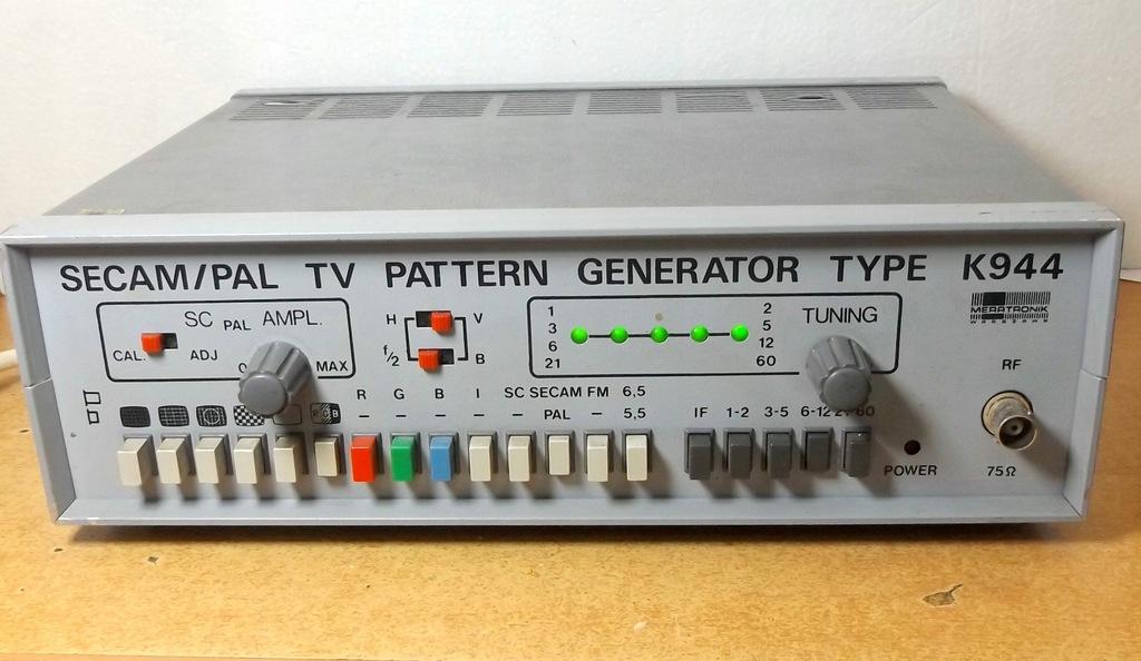 Generator PAL-SECAM K944 MERATRONIK [M4]