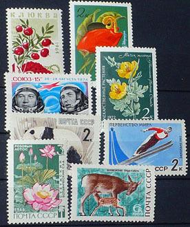 ZSRR** - znaczki czyste - zestaw