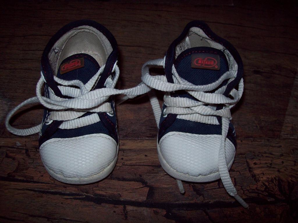 2 pary butów dziecięcych rozm 18 i 19 Befado