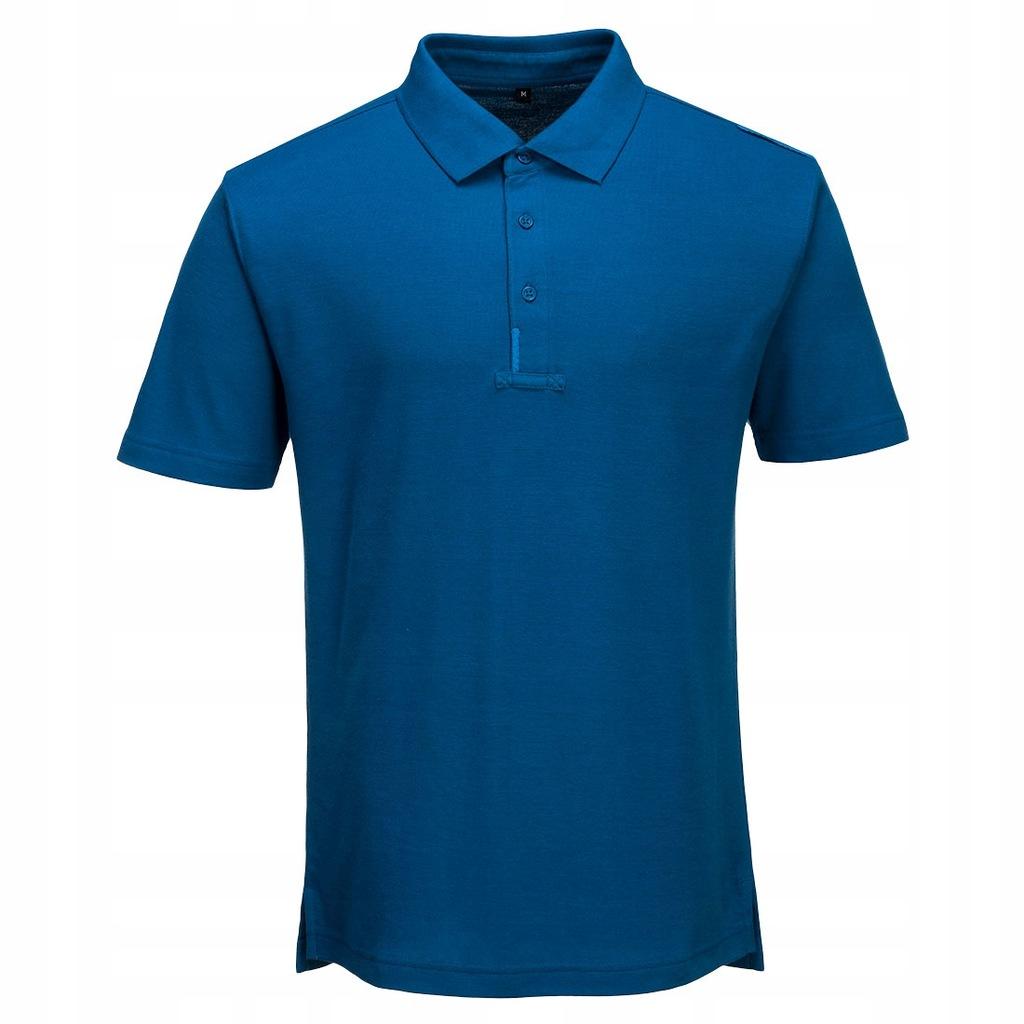 Koszulka polo WX3 PORTWEST [T720] Niebieski 2XL