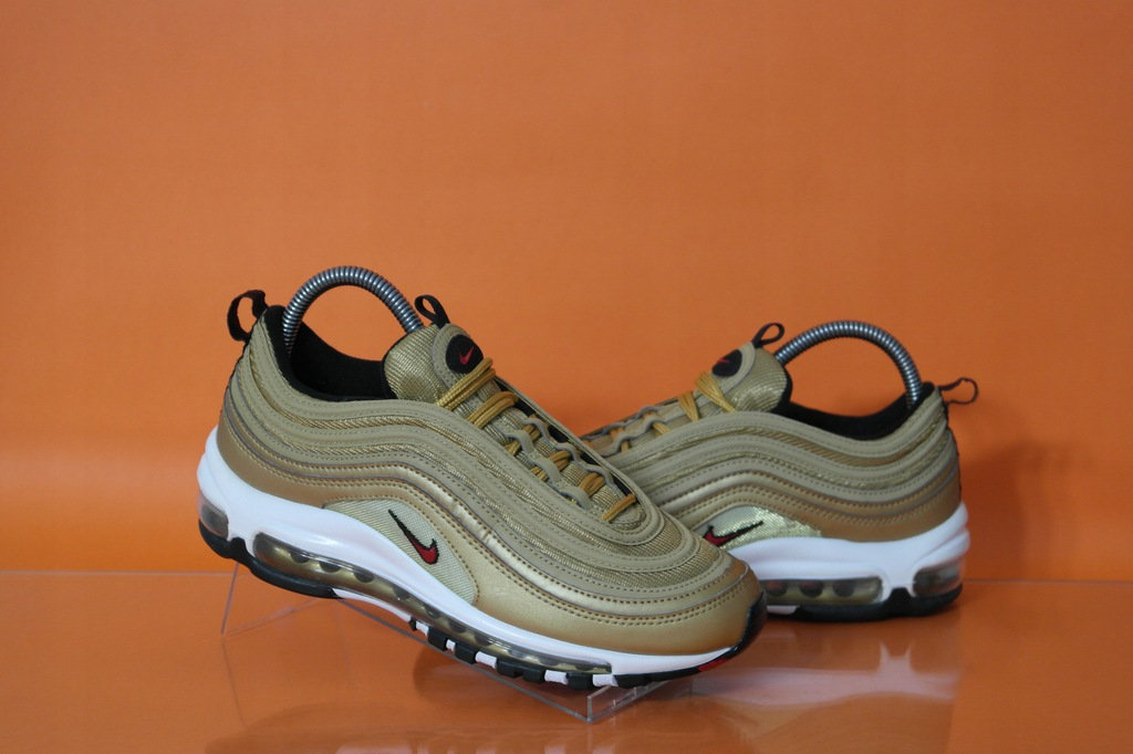 NIKE AIR MAX 97 OG QS Metallic Gold buty rozm.39