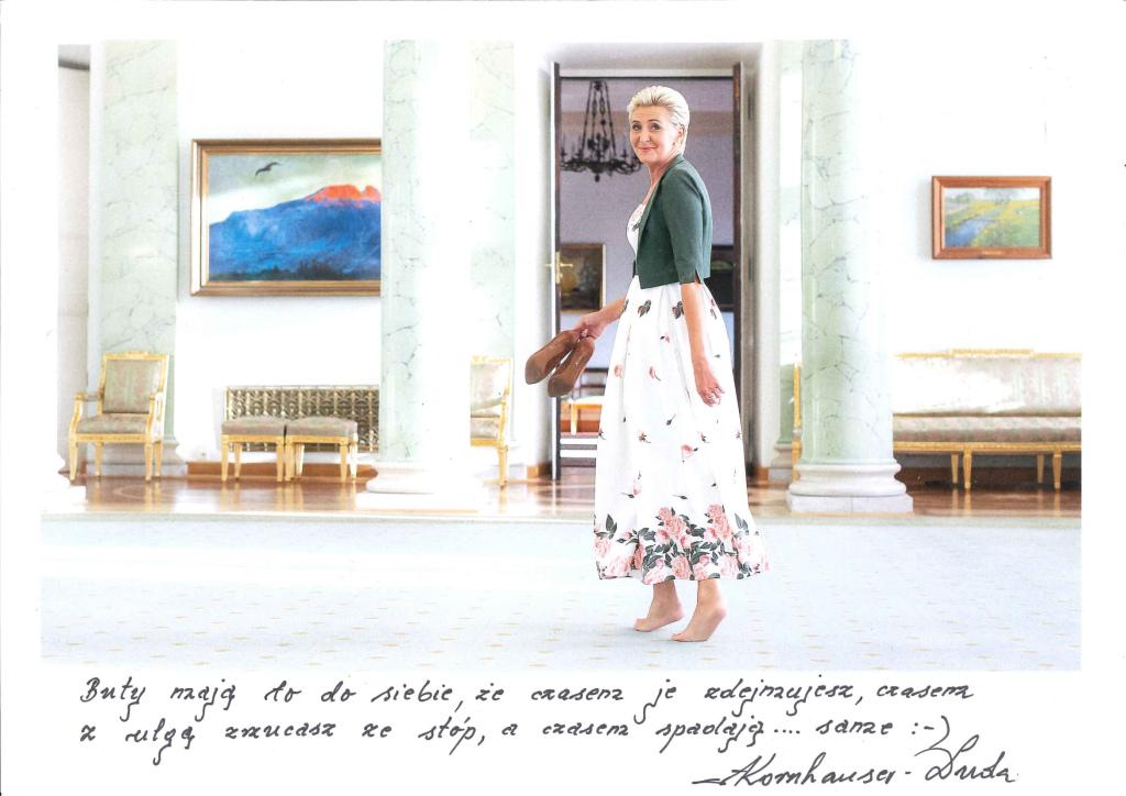 Pierwsza Dama Agata Kornhauser- Duda - sukienka