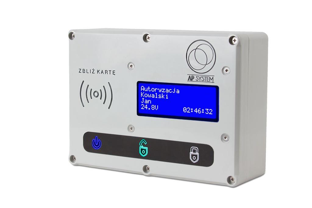 Czytnik RFID rejestr czasu, moduł kontroli dostępu