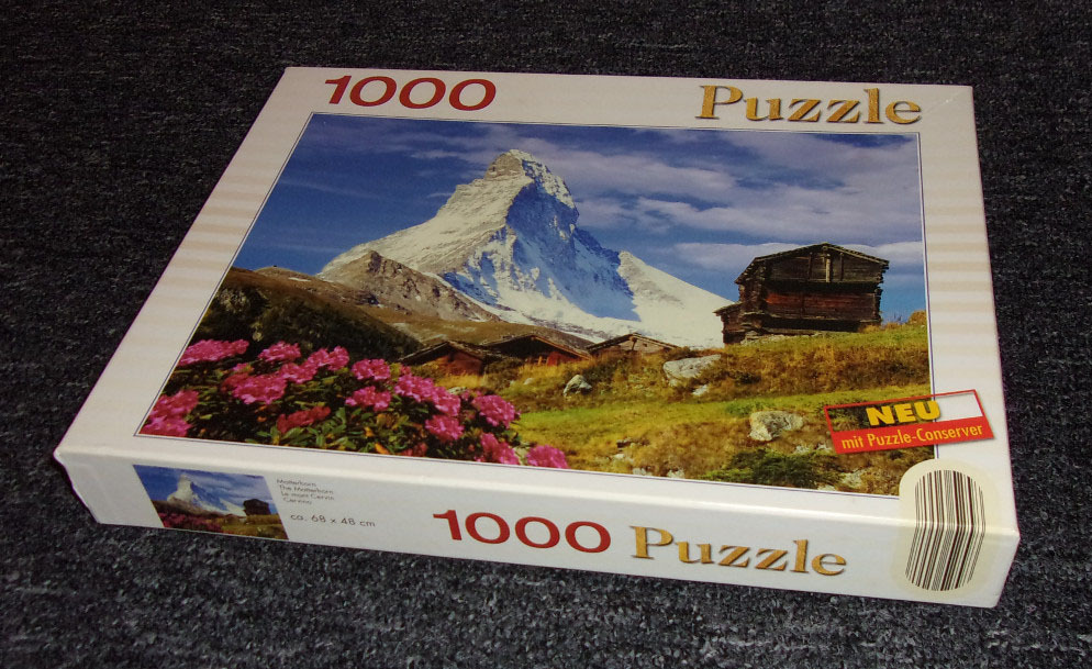 Puzzle - GÓRY, domki - 1000 elementów