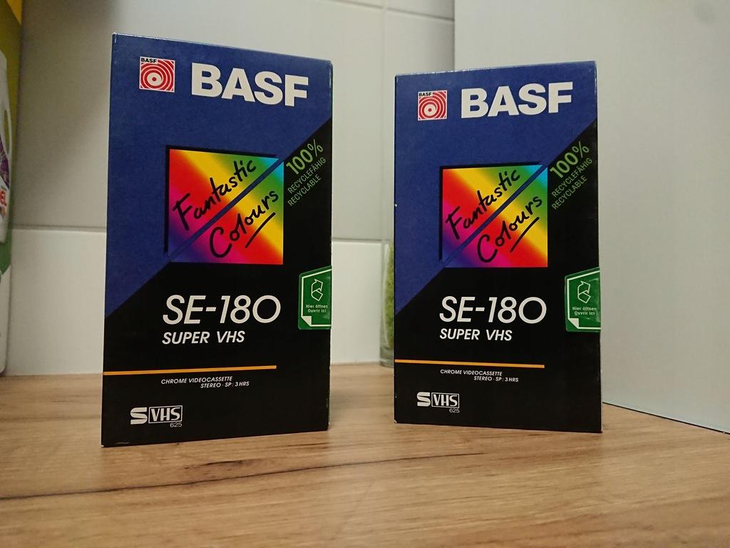 Kaseta SVHS BASF SE-180