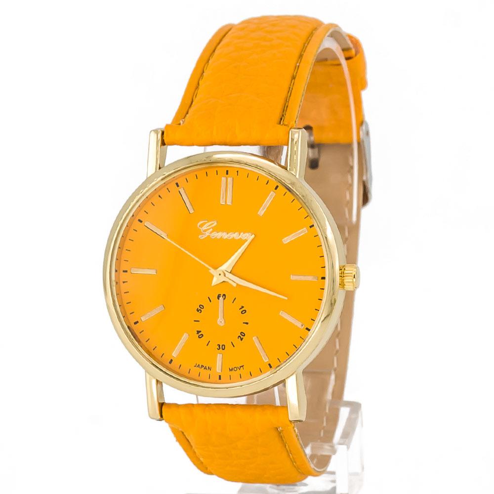 Zegarek zwyczajny miodowy