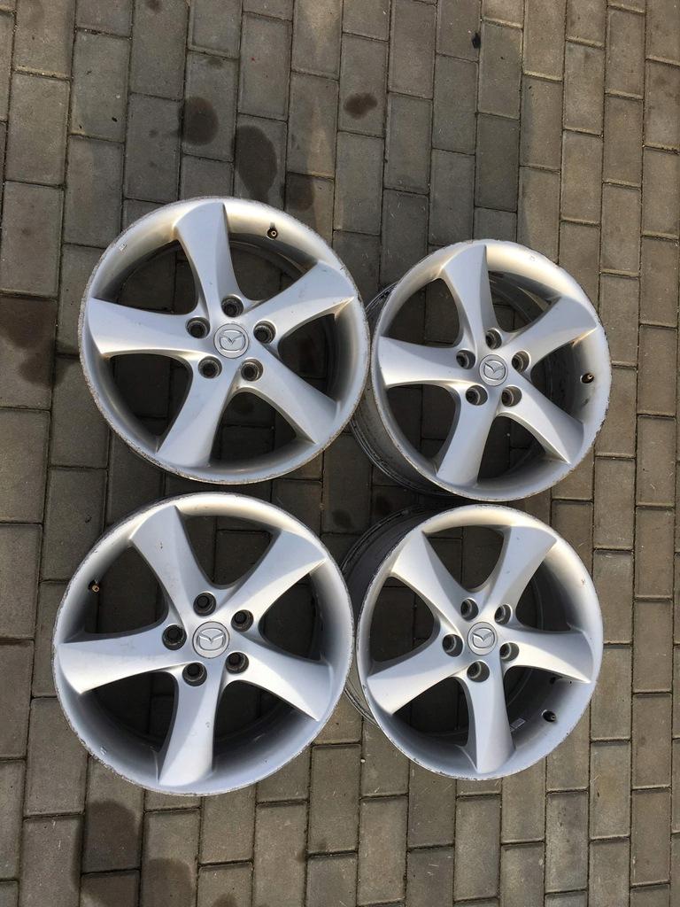 Mazda 6 Gg Felgi 17 Et55 2004 8577735488 Oficjalne Archiwum Allegro