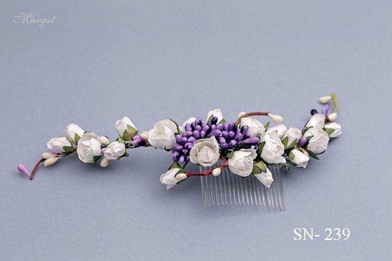 Stroik ślubny SN239 - fryzury ślubnej, głowę