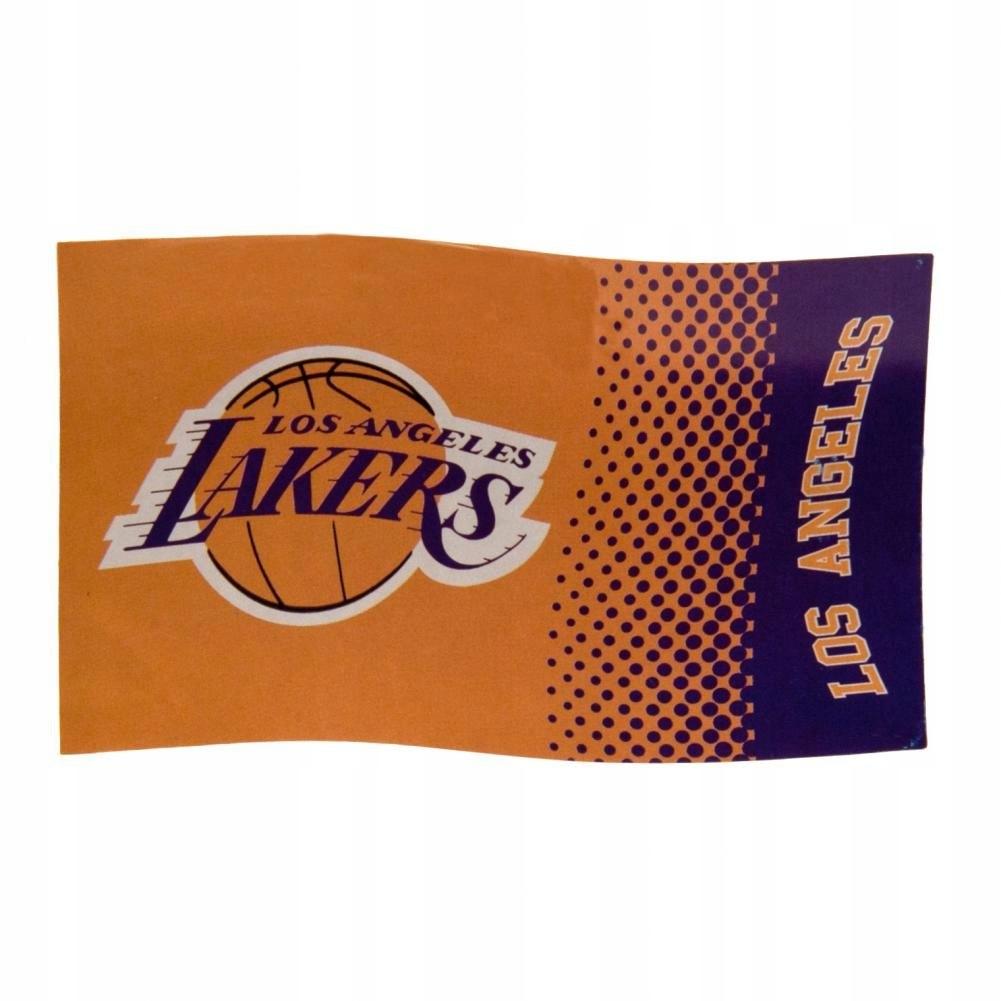 flaga NBA Los Angeles Lakers 152cm x 91cm