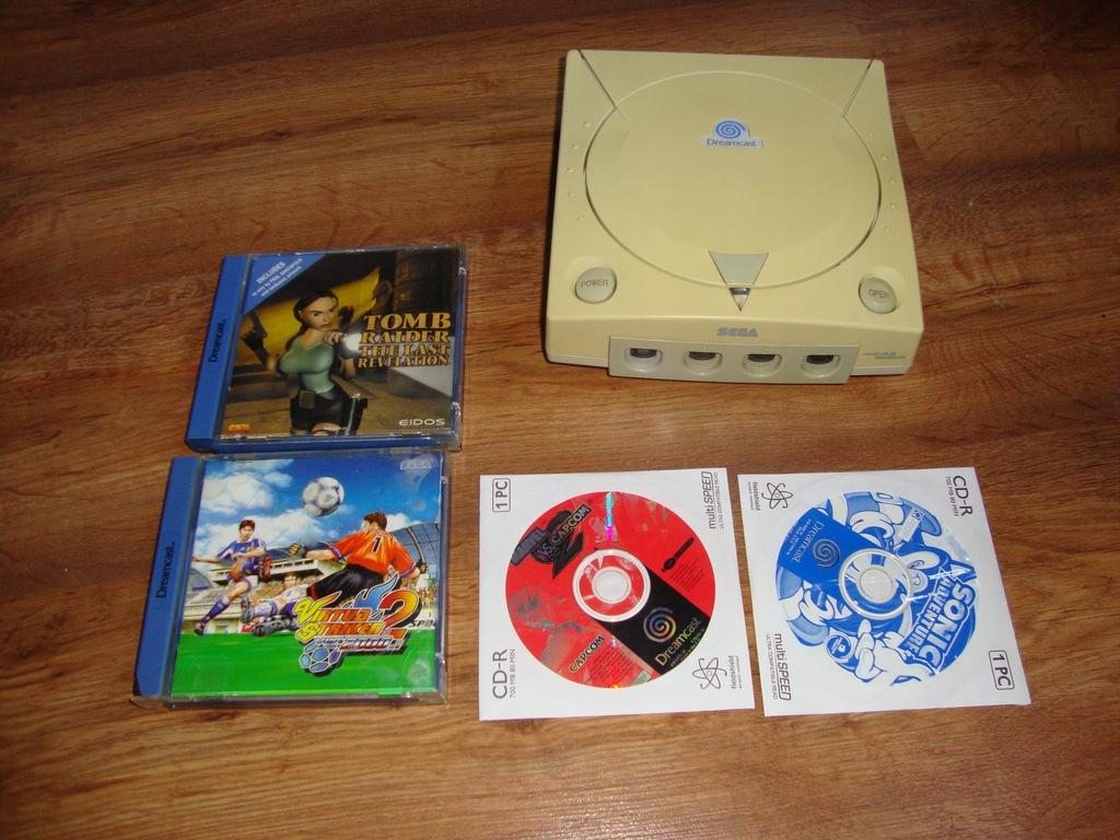 Dreamcast plus gry nie włącza się