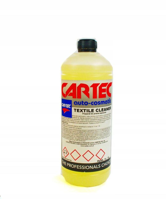 CARTEC Textile Cleaner płyn do prania tapicerek 1L