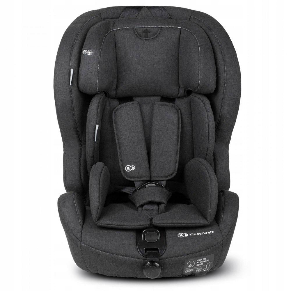 Fotelik Safety-Fix Isofix 9-36 kg czarny Kinderkra