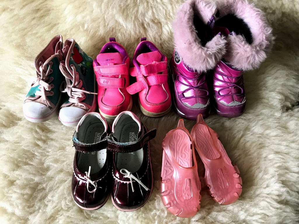 buty dziewczynka nike z gumka