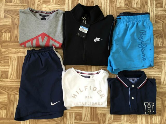 Tommy Hilfiger:: Pepe Jeans ::Nike M/L