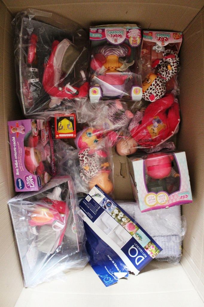 Lingua Italiana 95939IM IMC Toys Katie Cry Babies Beve e Piange