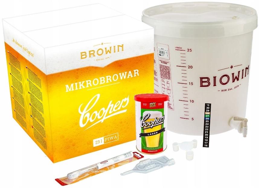Zestaw Mikro Browar ECO2 do Wyrobu Piwa BROWIN