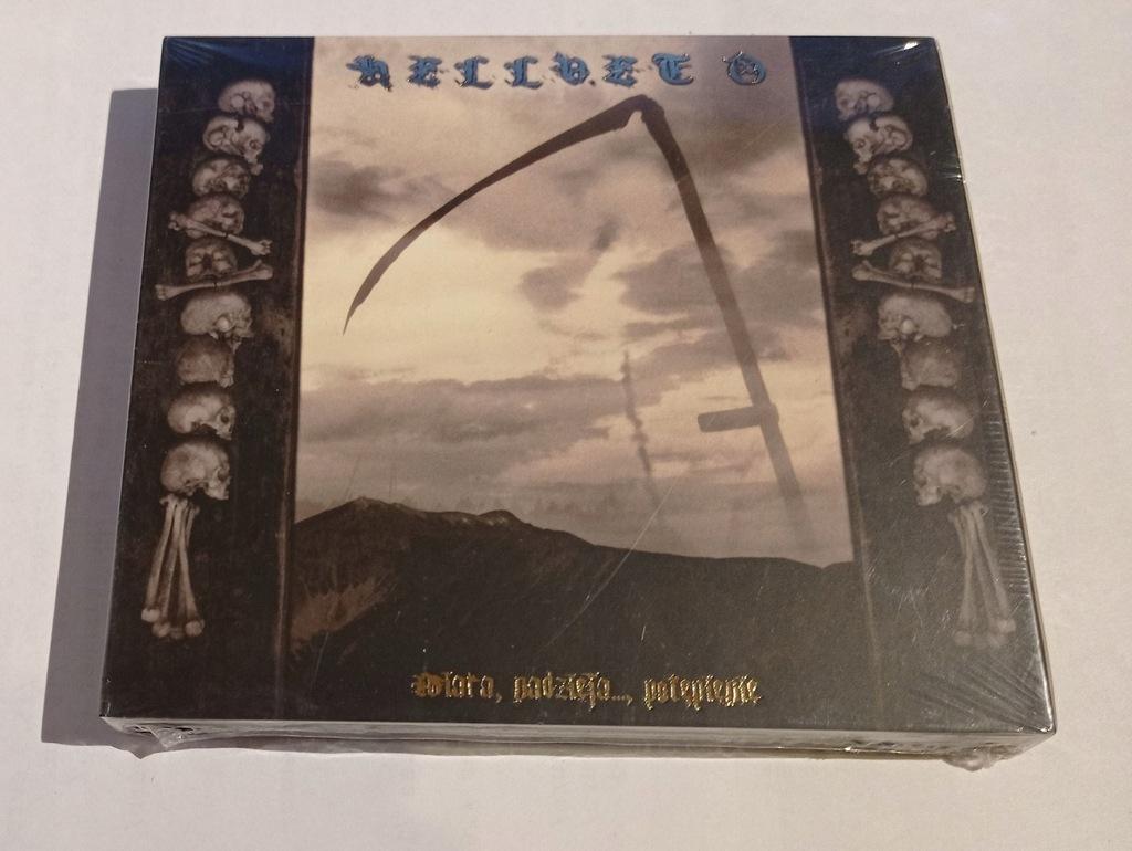 HELLVETO - Wiara, nadzieja..., potępienie CD black