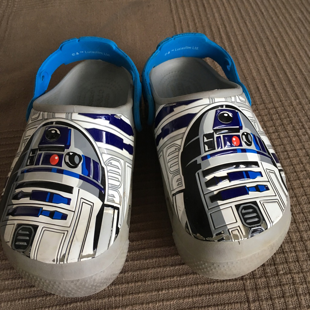 CROCSY STAR WARS SZARE LIGHT(SWIECACE)12 C COMFO