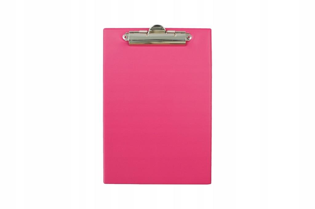Deska z klipem A5 pink