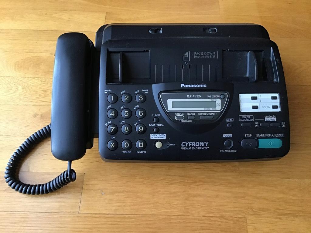 Fax Panasonic KX-FT25 w super stanie sprawny