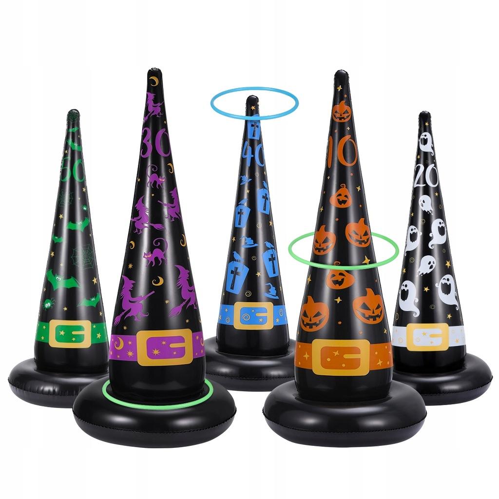 Clispeed Ring Toss Set 5szt. Nadmuchiwane czapki w