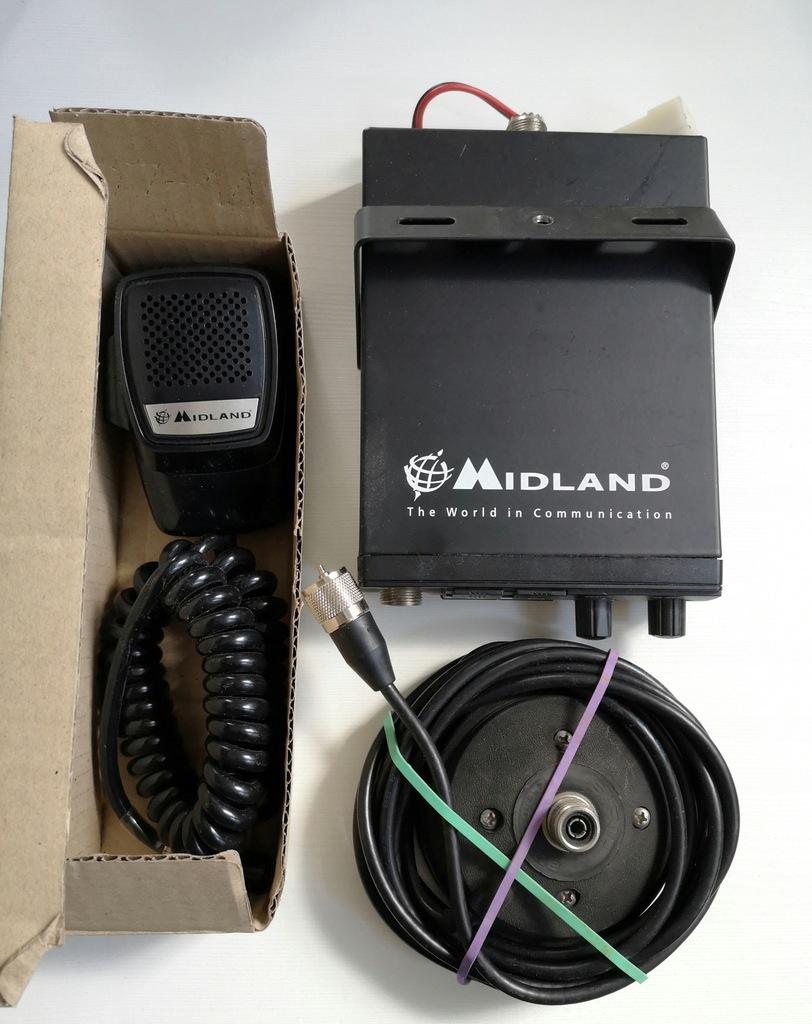 Zestaw CB Radio Magnes Midland Alan 200