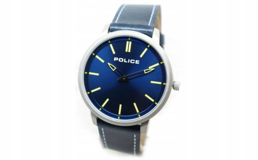 X12761K H01 POLICE ZEGAREK NA PASKU BLUE