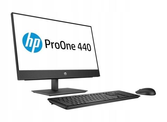 KOMPUTER HP G4 AIO i3-8100T 8GB 256GB + 1TB 23,8''