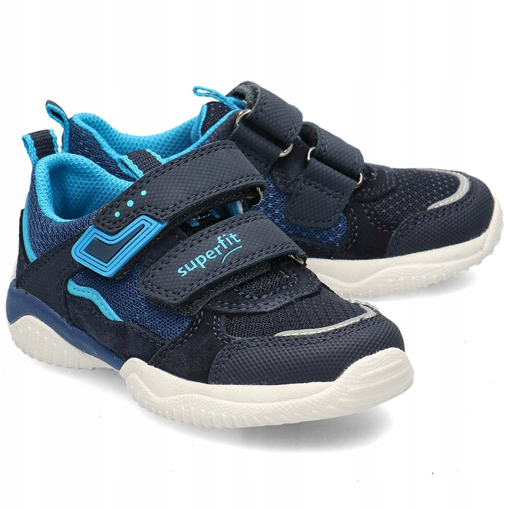 Superfit Granatowe Sneakersy Dziecięce R.26