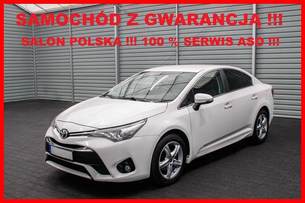 Toyota Avensis Salon PL + 1 Właściciel + 100%