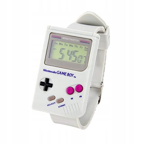 Zegarek Nintendo Game Boy Watch szary Super Mario