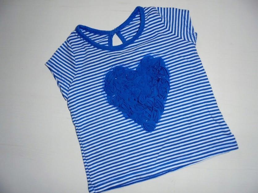 MATALAN Bluzeczka z sercem 3D roz.68