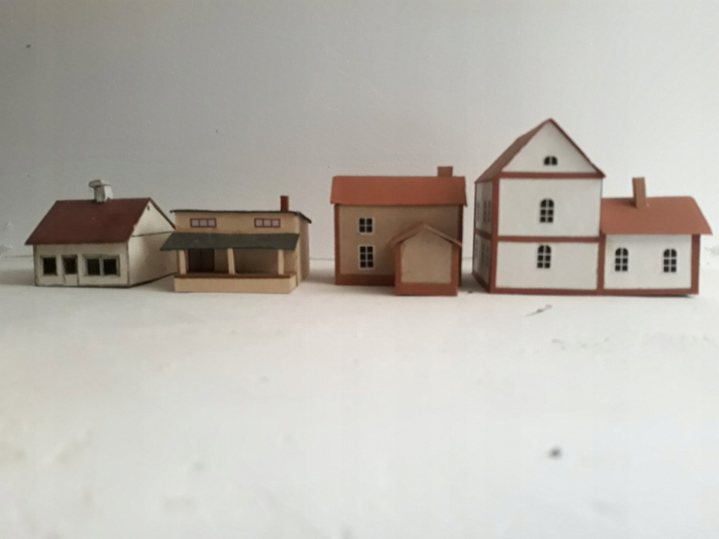 Domki na makietę skala N