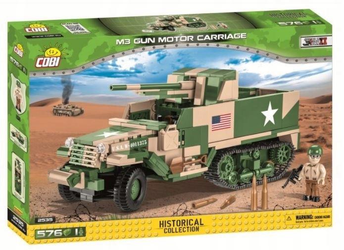Cobi Klocki Klocki M3 Gun Motor Carriage