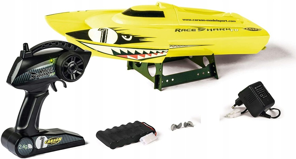 Motorówka zdalnie sterowana Carson Race Shark FD