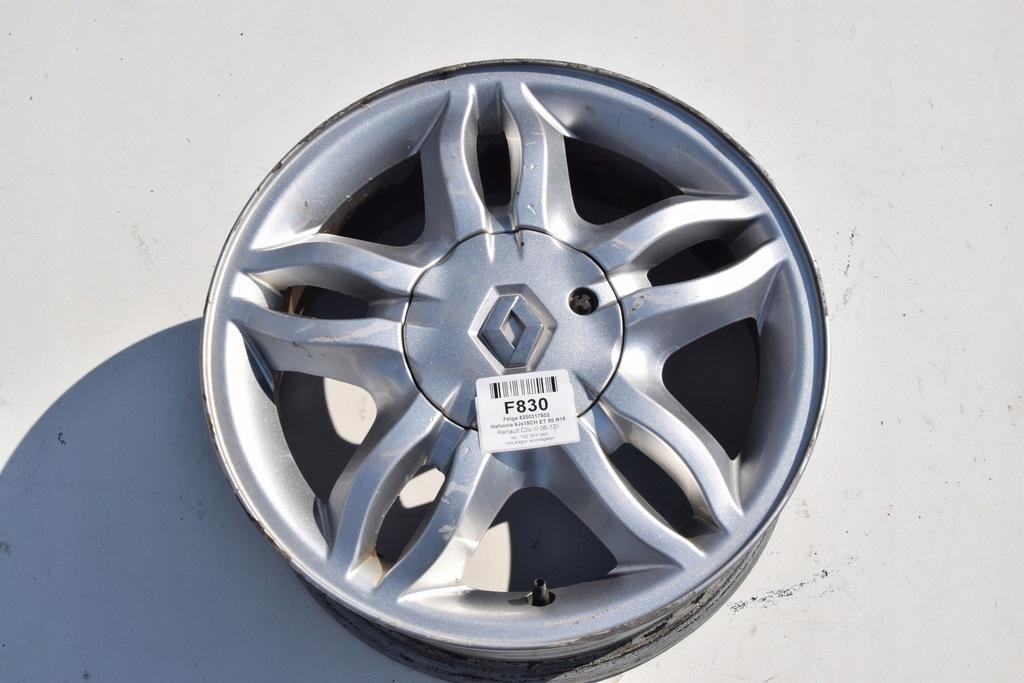 Felga alufelga alumy Clio III Modus Mahonia R15