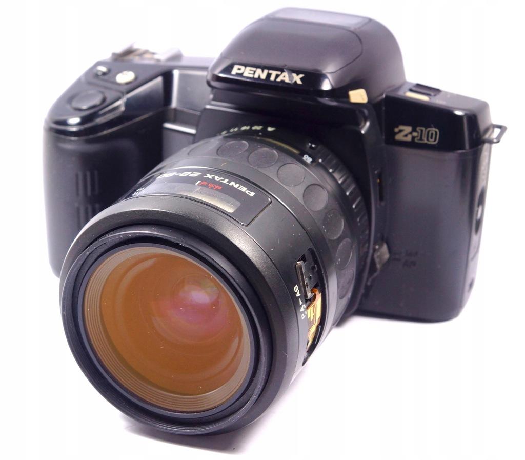 aparat Pentax Z-10 + obiektyw 28-80mm 1:3,5-4,7