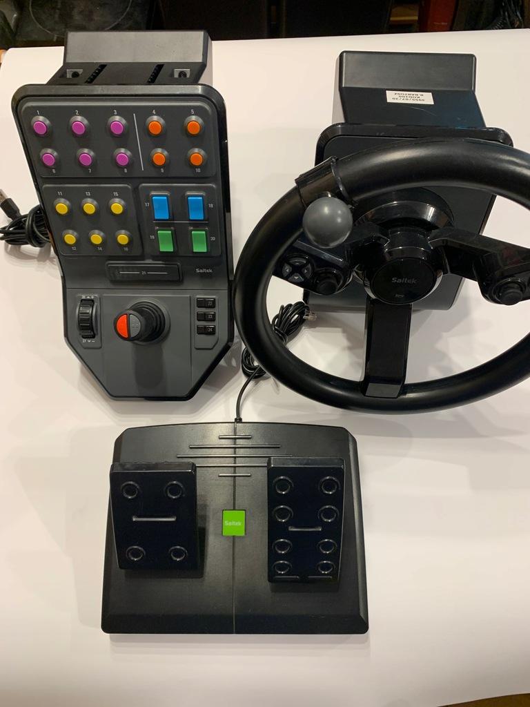 Kierownica Logitech G Saitek Farming Simulator 15 9528166559 Oficjalne Archiwum Allegro
