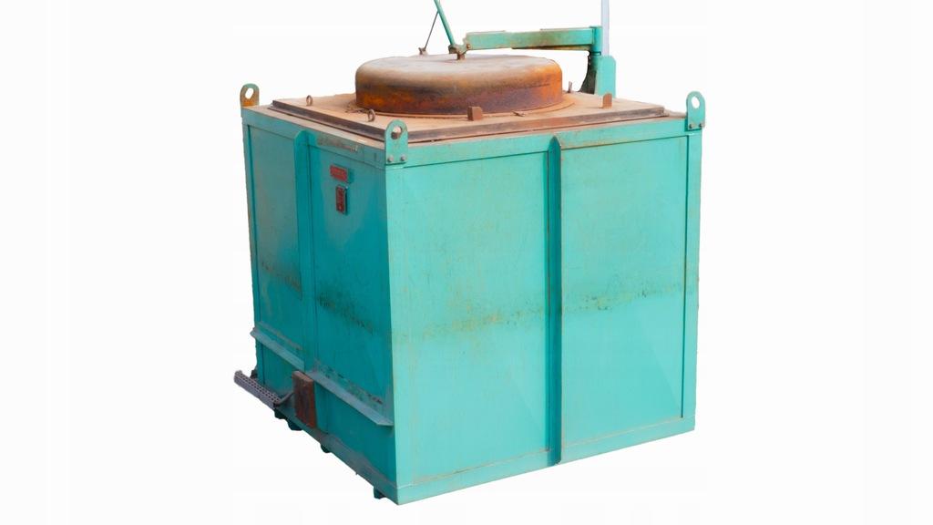Piec topialny REMIX - 1800kg 1050°C ZnAl