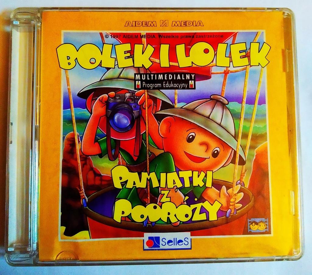 BOLEK I LOLEK - PAMIĄTKI Z PODRÓŻY / EDUKACYJNY PC