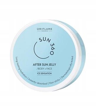 Żel po opalaniu Sun 360 ORIFLAME 99% potwierdza