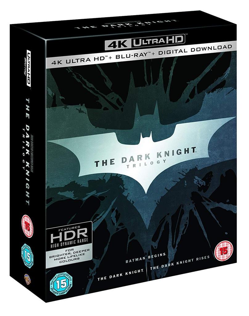 . Batman Mroczny Rycerz Trylogia | 4K Blu-ray | PL